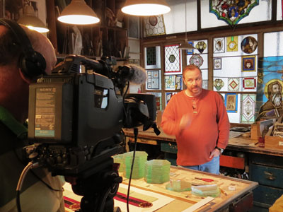 "ON THE 1ST OF DECEMBER 2014, OUR STUDIO BECAME THE FOCUS OF THE DOCUMENTARY FOR CZECH TELEVISION TV SHOW ""WANDERING CAMERA"" (""TOULAVÁ KAMERA""), AIR DATE 18.1.2015"